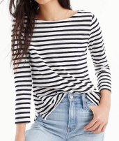 JCrew Striped Tee