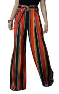 Diane Von Furstenburg Wide Leg Belted Pant