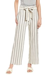 Rebecca Minkoff Molly Striped Crop Pant