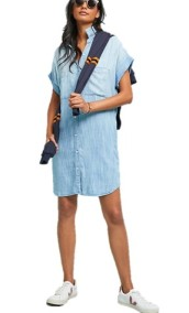 Cloth & Stone (Anthropologie) Wilson Chambray Shirt Dress