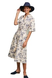 Anthropologie Benay Shirtdress