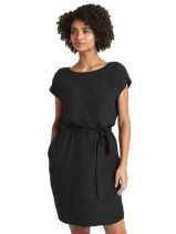 GAP Short Sleeve Tie Belt Shift Dress