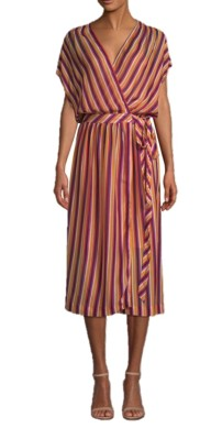 Trina Turk (Saks) California Dreaming Wrap Dress